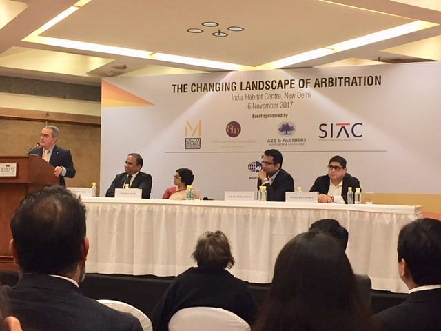 """Experts' take on the """"Changing Landscape of Arbitration"""" in India"""