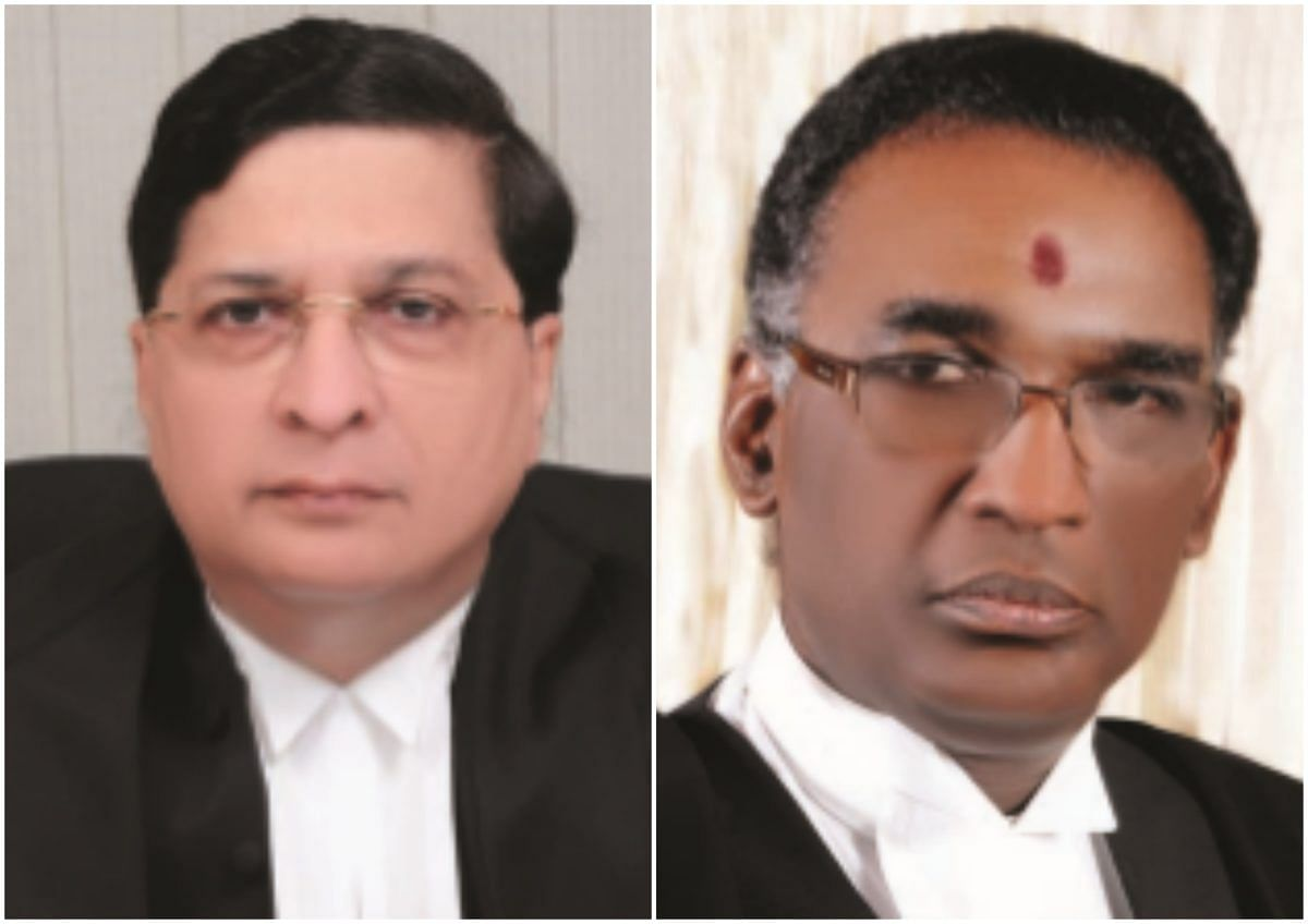 What the Registry's note taken on record by Justice Chelameswar says
