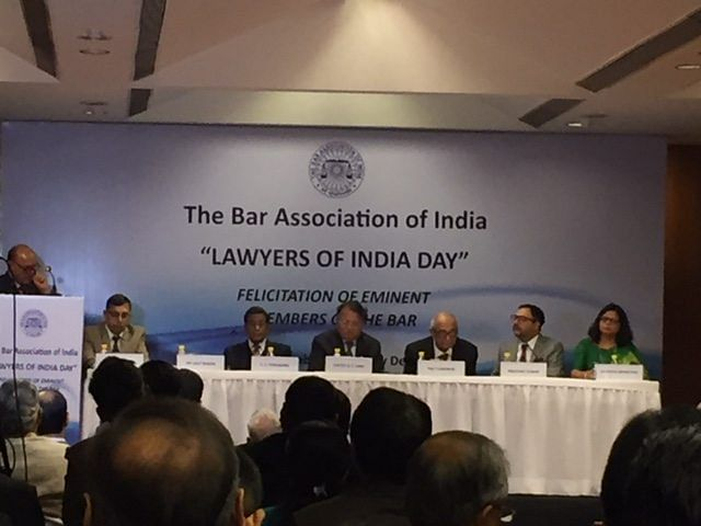 Legal Luminaries awarded at Lawyers of India Day celebrations