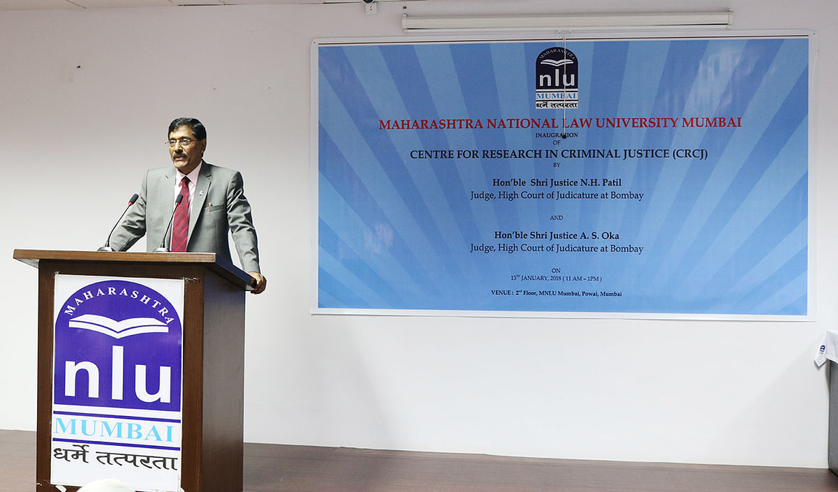 MNLU Mumbai launches Centre for Research in Criminal Justice