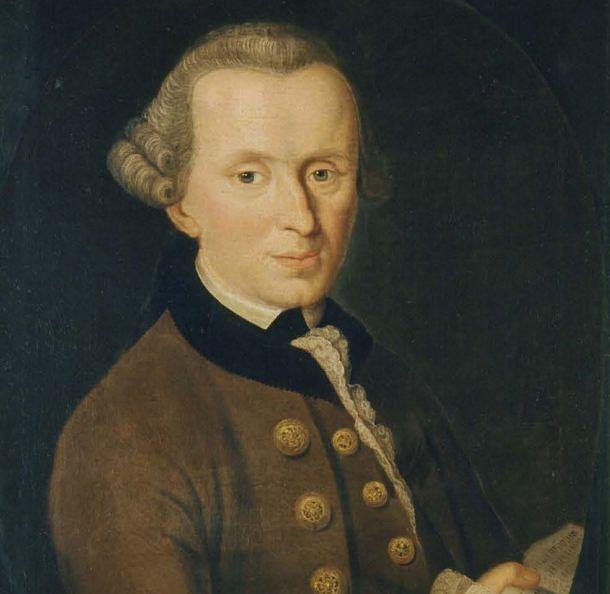 "Immanuel Kant (Image Source – <a href=""http://Becker - http://www.philosovieth.de/kant-bilder/bilddaten.html, Public Domain, https://commons.wikimedia.org/w/index.php?curid=32860677"" rel=""noopener"" target=""_blank"">Wiki Commons</a>)"