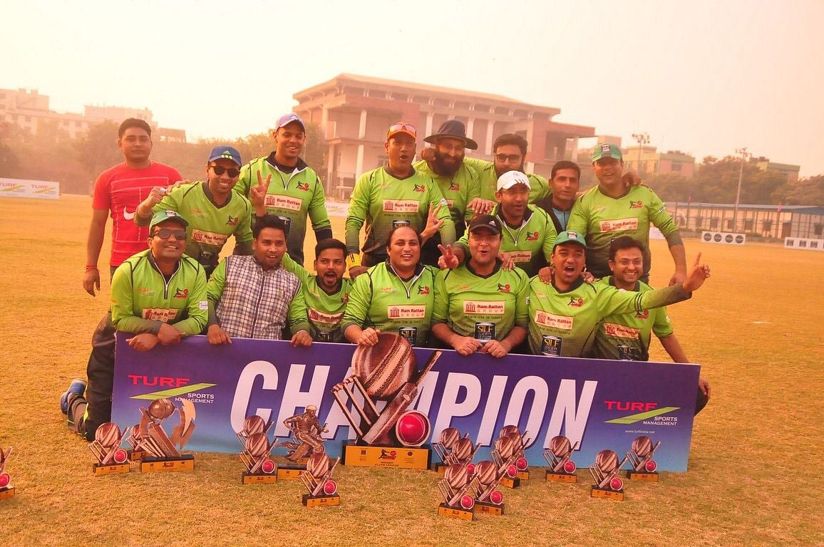 Luthra wins SILF Cricket tournament (Plate League), 2017