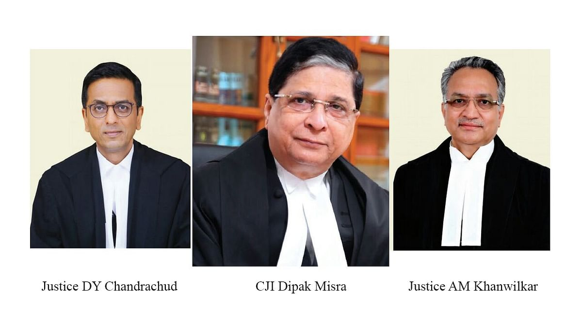The Bench of then CJI Misra and Justices Khanwilkar and Chandrachud had passed the judgment in Swapnil Tripathi