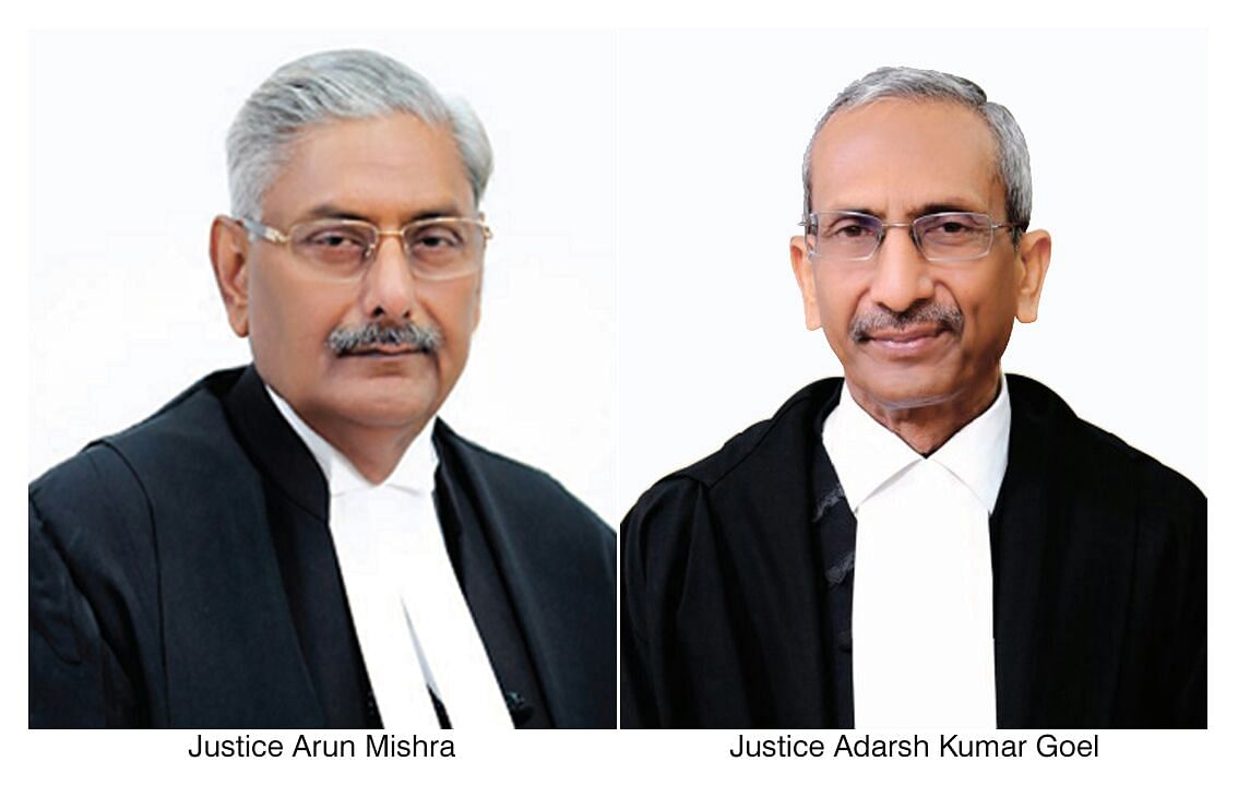 S. 24 of Land Acquisition Act: Arun Mishra, AK Goel JJ. refer cases to CJI for constituting appropriate Bench