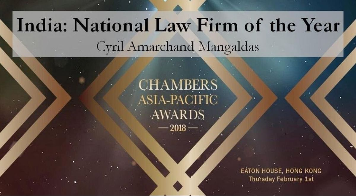 Cyril Amarchand Mangaldas wins Chambers & Partners National Law Firm of the Year