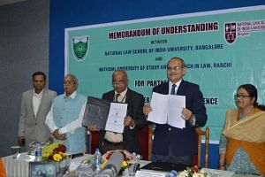 NLSIU, NUSRL sign MoU for student and faculty exchange