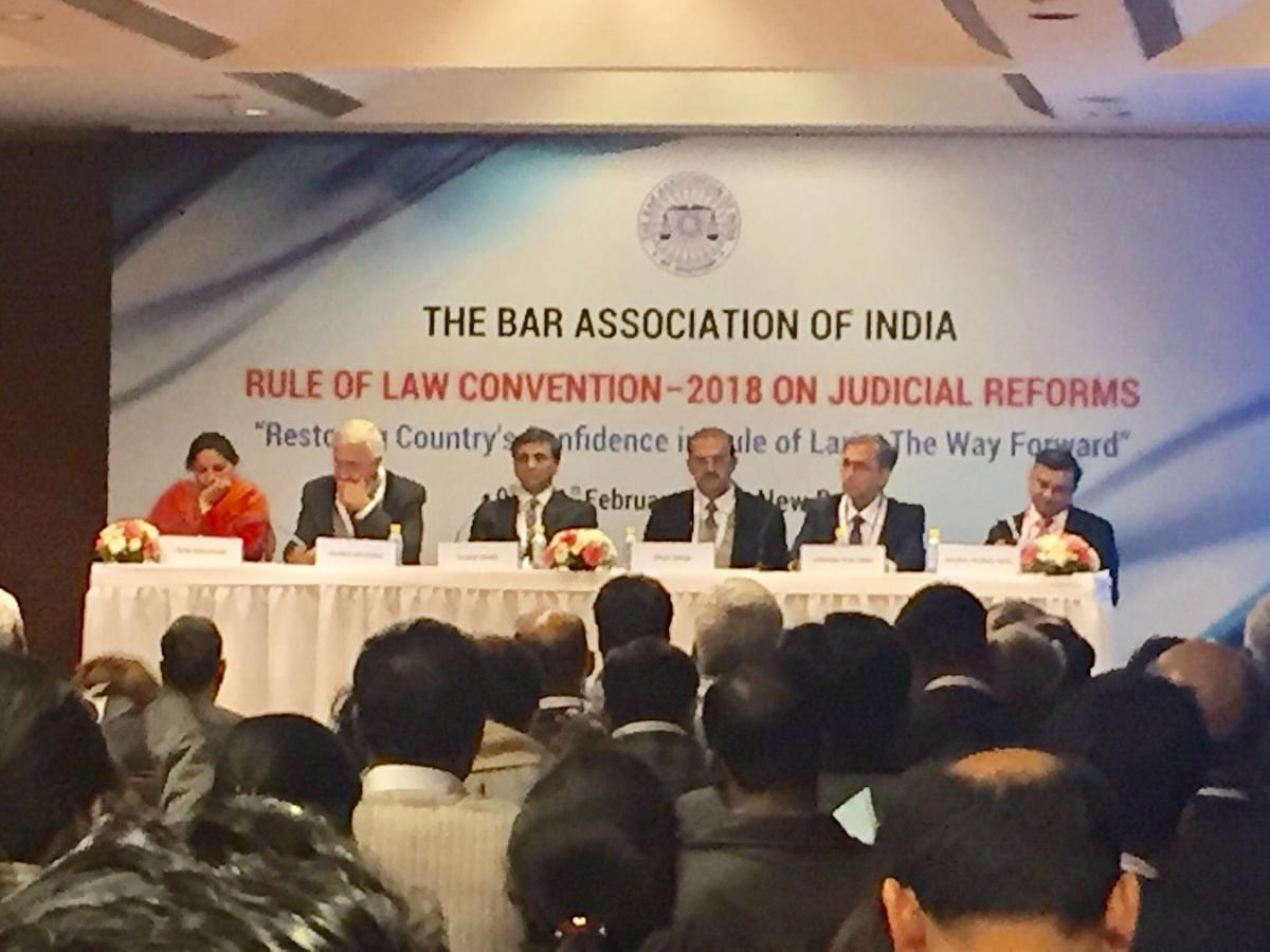 Legal luminaries speak about shortage of judges at Bar Association of India conclave