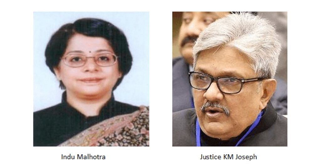 #CollegiumResolutions: Indu Malhotra, KM Joseph recommended for elevation to SC