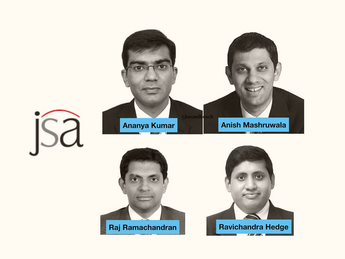 JSA promotes 4 to equity Partnership; Equity Partners Murali and Mansoor Shoket resign