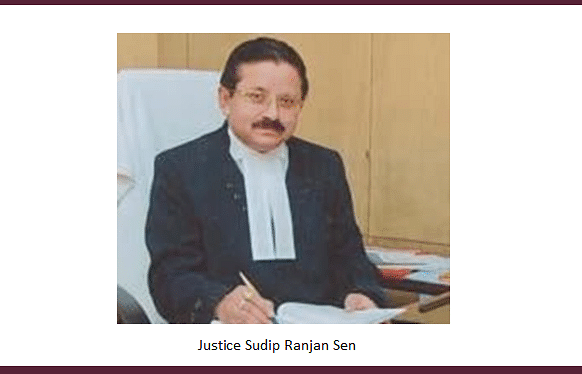 Justice Sudip Ranjan Sen to take over as Acting Chief Justice of Meghalaya High Court