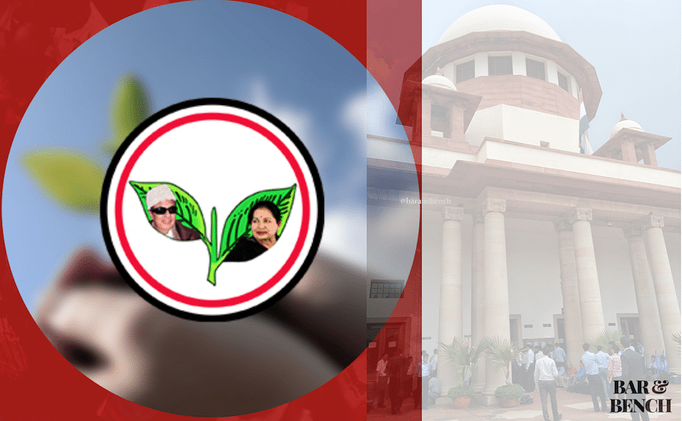 SC stays disqualification proceedings against AIADMK MLAs before TN Legislative Assembly Speaker