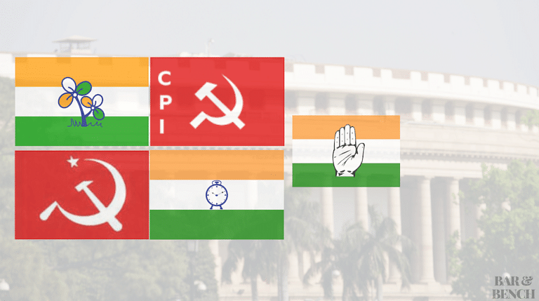 MPs from Trinamool Congress, CPI (M), CPI, NCP and Congress have reportedly signed the impeachment proceedings