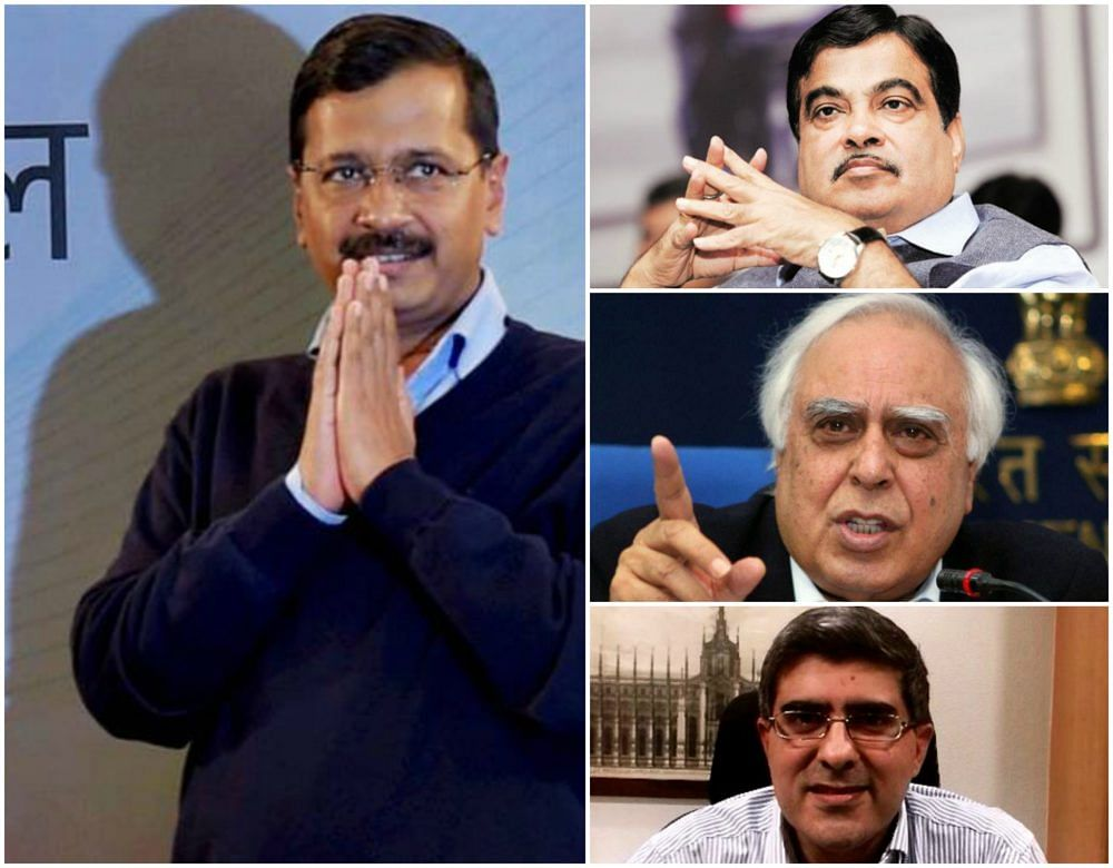 Kejriwal apologizes to Kapil, Amit Sibal, Gadkari for unfounded allegations