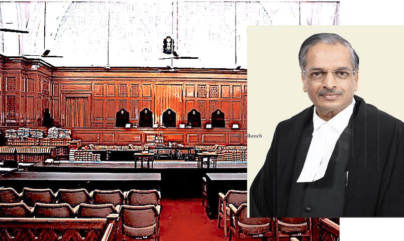 Justice (retd.) RK Agrawal was part of the Bench along with Justice Nariman in the Sampath Kumar case.