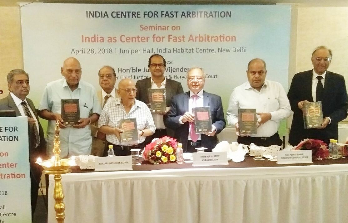 Indian Centre for Fast Arbitration organises seminar on 'India as Centre of Fast Arbitration'