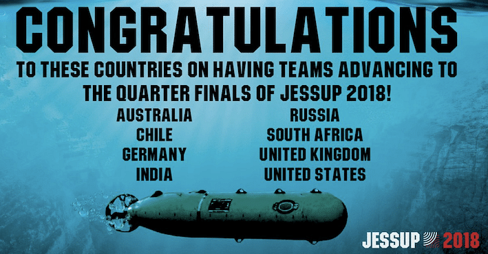 NLSIU runner-up, University of Queensland wins Jessup 2018