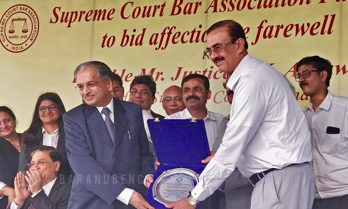 Independence of Judiciary one of the pillars of democracy, Justice RK Agrawal retires from SC