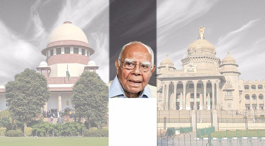 """Karnataka Elections: Ram Jethmalani appears in-person, alleges """"gross abuse of Constitutional power by Governor"""""""