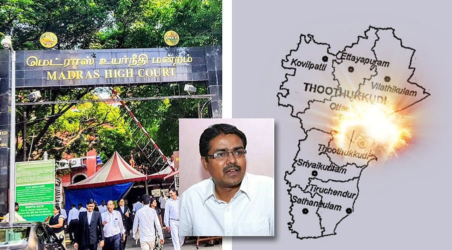 Lawyer S Vanchinathan arrested for 'inciting violence' during Thoothukudi protest