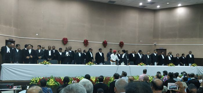7 Addl Judges sworn in, Madras High Court achieves record high of 12 woman judges