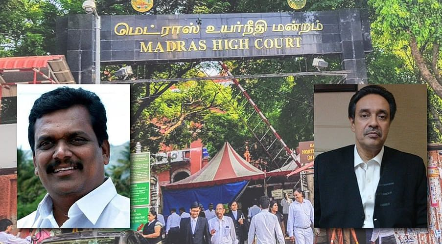 AG notice in contempt petition against MLA Tamilselvan for scurrilous attack on Madras HC judges
