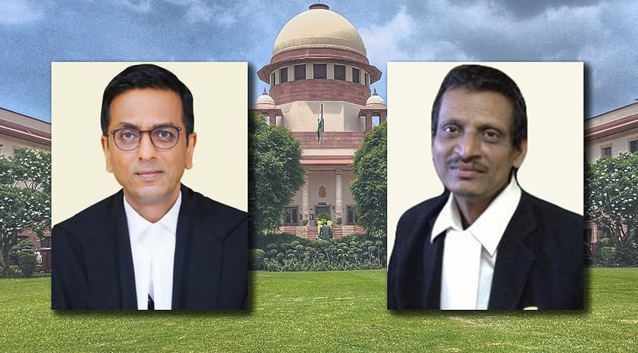 """You read newspaper articles and file PILs"", DY Chandrachud J. comes down on Adv. ML Sharma"