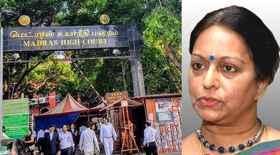 Madras HC grants interim Anticipatory Bail to Nalini Chidambaram in Saradha Chit Fund case