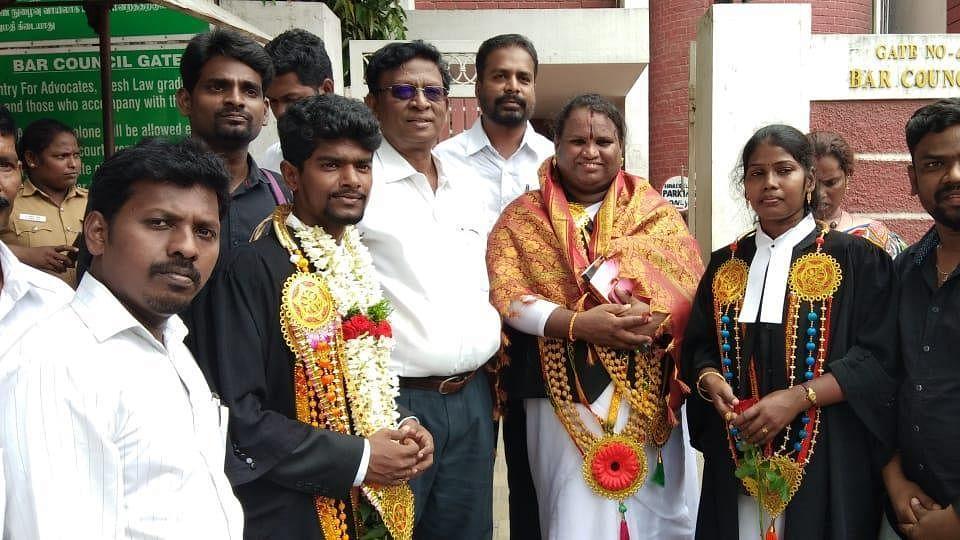 Sathyasri Sharmila becomes first transgender lawyer to enrol with TN Bar Council