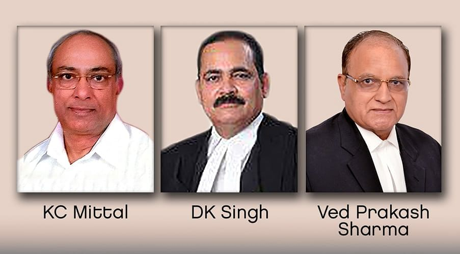 KC Mittal elected Chairperson of Bar Council of Delhi