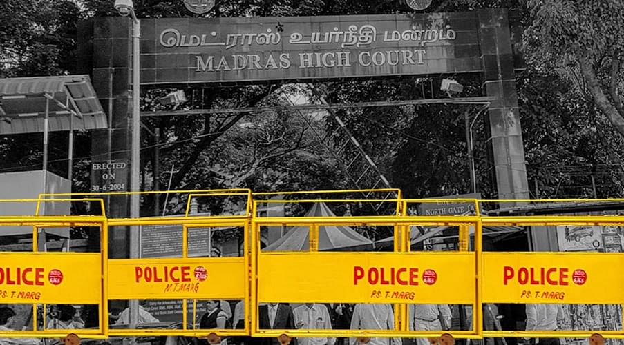 Police should 'pull up their socks', Madras HC issues directions to curb unnecessary arrests