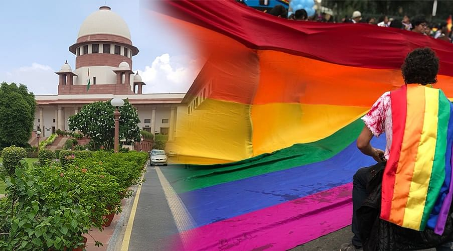 The Supreme Court is currently considering whether or not such criminalisation of homosexuality is Constitutional.