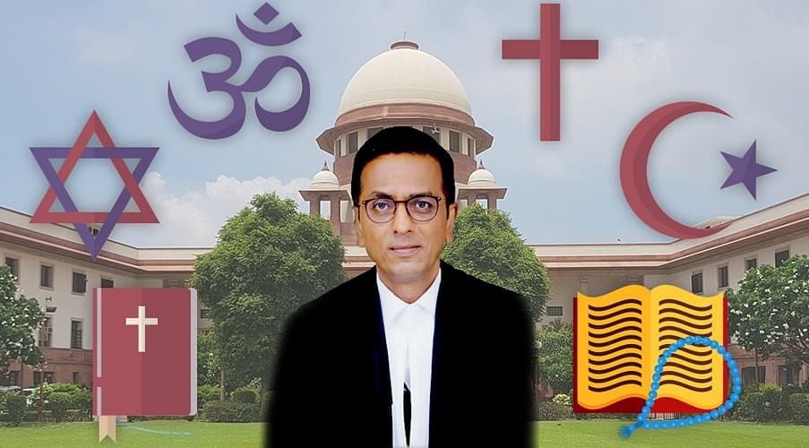 "Question of Law: Essential Religious Practices Test a ""problem in our jurisprudence"", DY Chandrachud J."