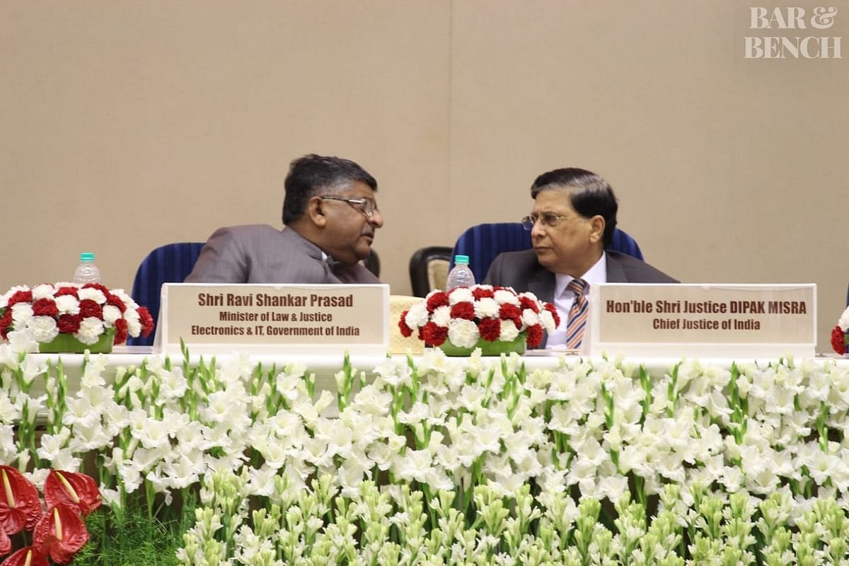 Law Ministry asks CJI Dipak Misra to name the next Chief Justice of India