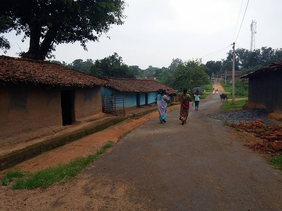 Butanga village, Bagaicha Tehsil