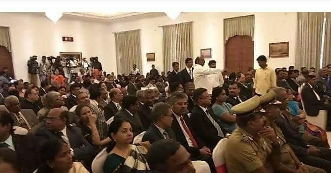 Seating faux pas during CJ VK Tahilramani swearing-in sparks discontent in Madras HC