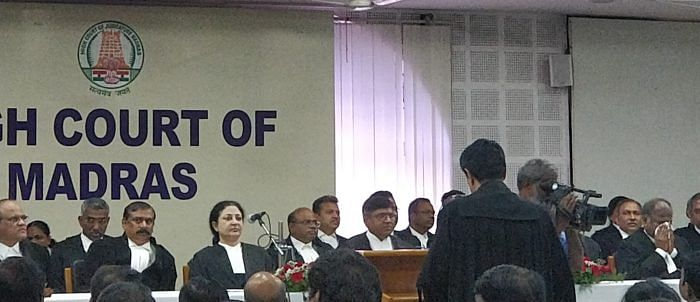 Madras HC welcomes newly sworn in Chief Justice VK Tahilramani