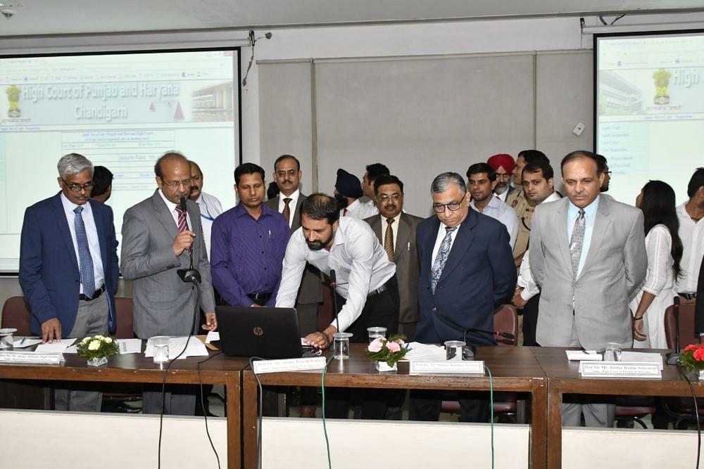 Chief Justice Krishna Murari launches app for Punjab & Haryana HC