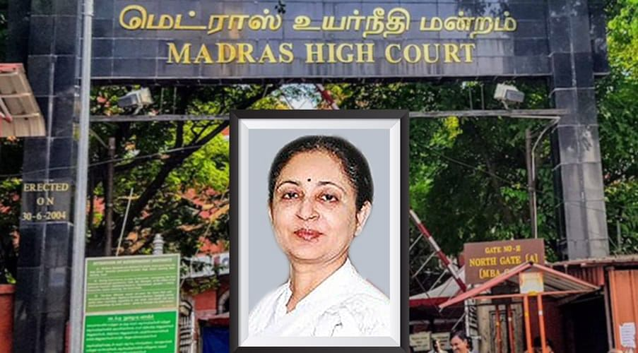 Collegium likely to recommend transfer of Madras CJ VK Tahilramani to Meghalaya HC