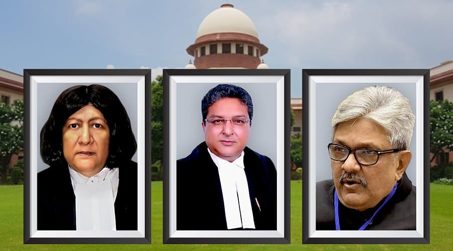 Justices Indira Banerjee, Vineet Saran, KM Joseph sworn in as Supreme Court judges