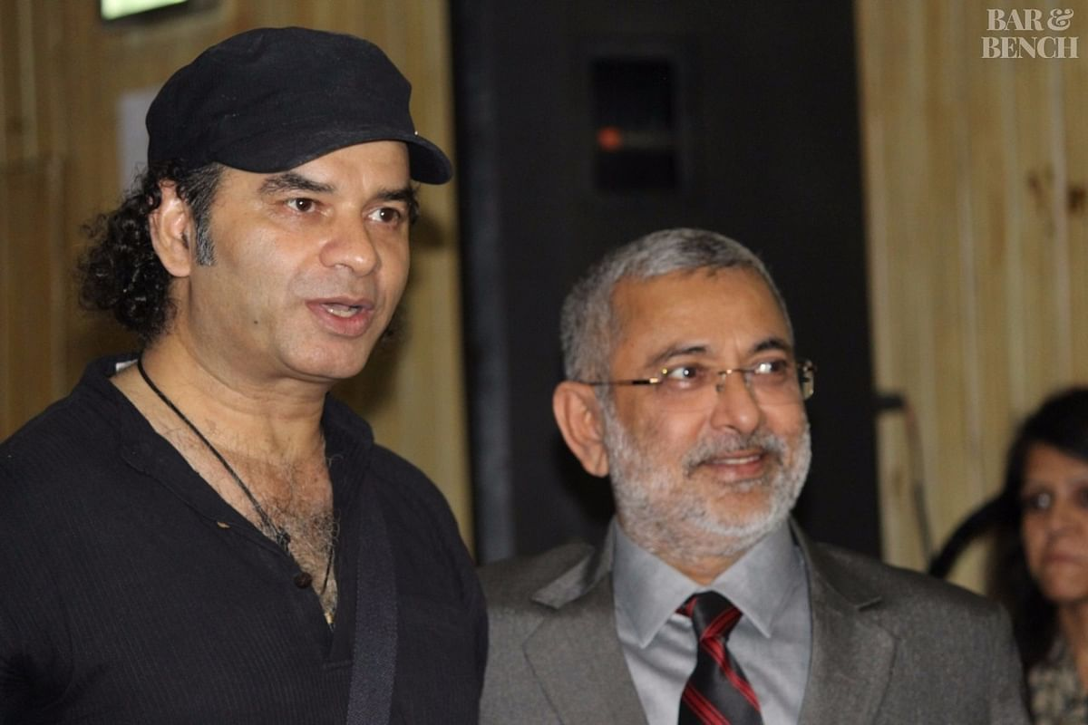 Justice Kurian Joseph and Singer Mohit Chauhan