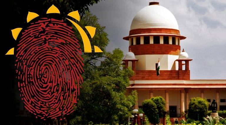 Supreme Court Aadhar Petition