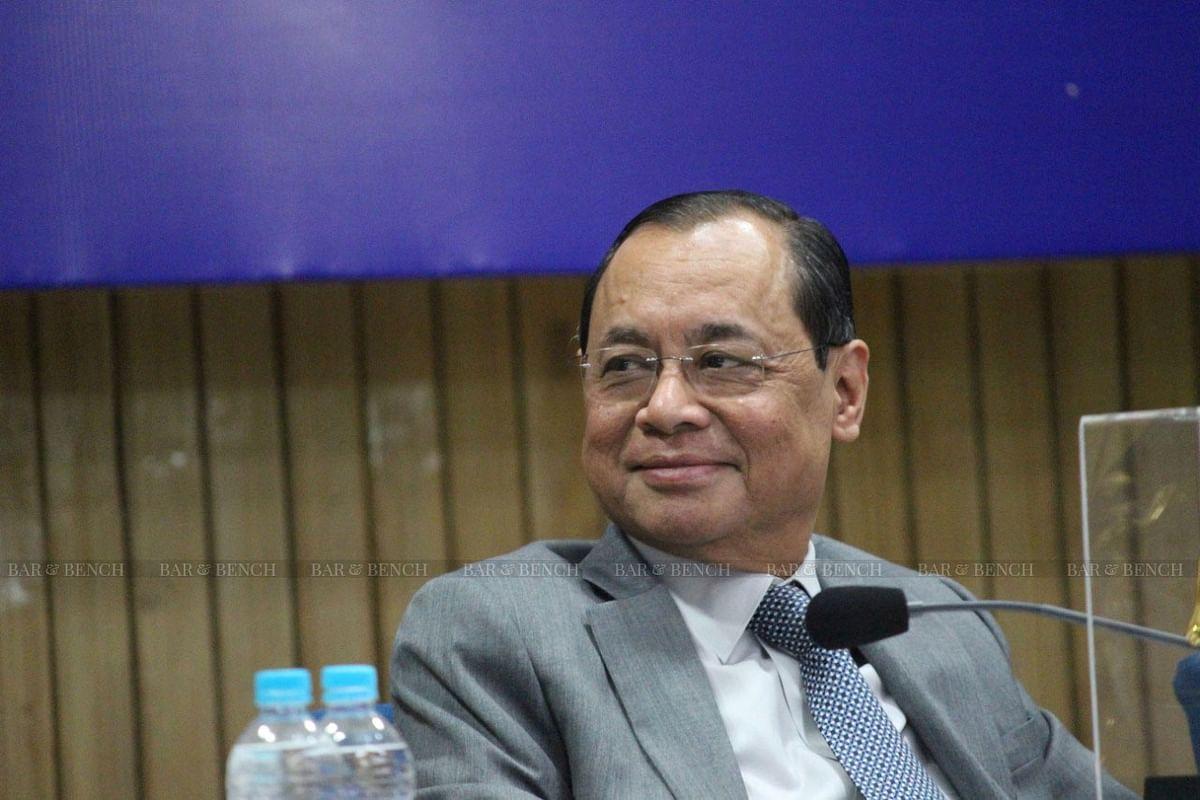 Madhu Purnima Kishwar and Former CJI Ranjan Gogoi