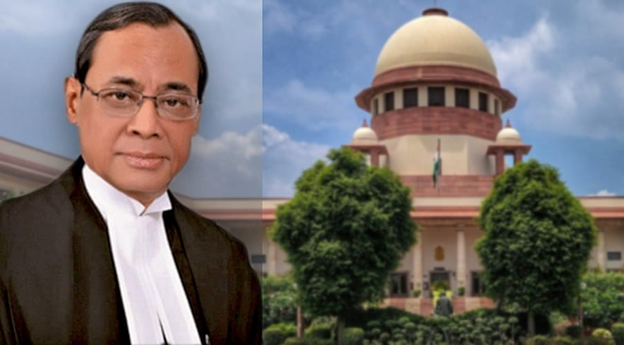 Ranjan Gogoi J endorsed as next Chief Justice of India
