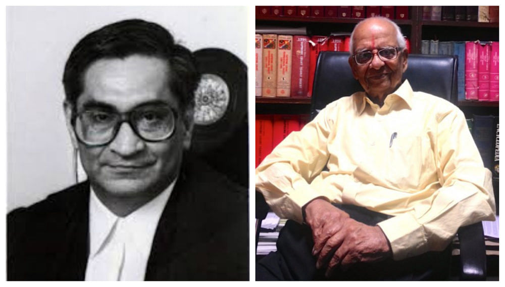 Justice SN Variava and former Attorney General for India, K Parasaran