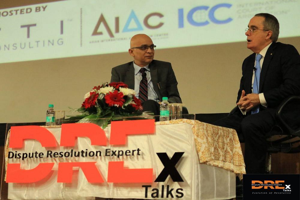 Professor Douglas Jones delivers DREx Talk on Use of Experts in International Arbitration