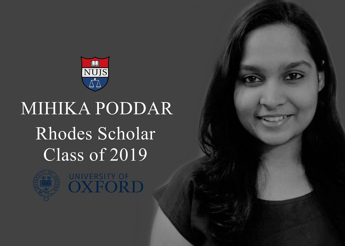 Mihika Poddar from NUJS bags Rhodes Scholarship for 2019