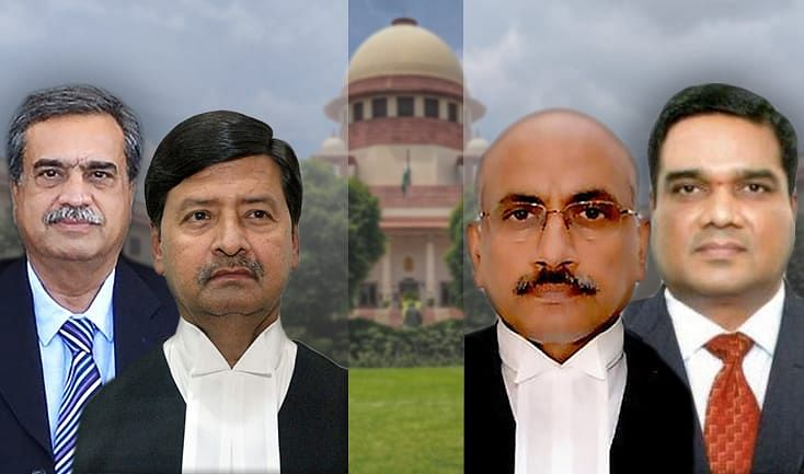 Breaking: Centre clears appointment of four new judges to Supreme Court, swearing-in tomorrow