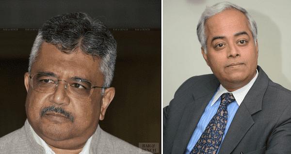 Solicitor General Tushar Mehta (Left) and Senior Advocate Ramji Srinivasan (Right)