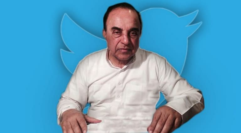 "Use of ""Congi"" for ""Congress"" not defamatory, Subramanian Swamy defends tweets on National Herald"