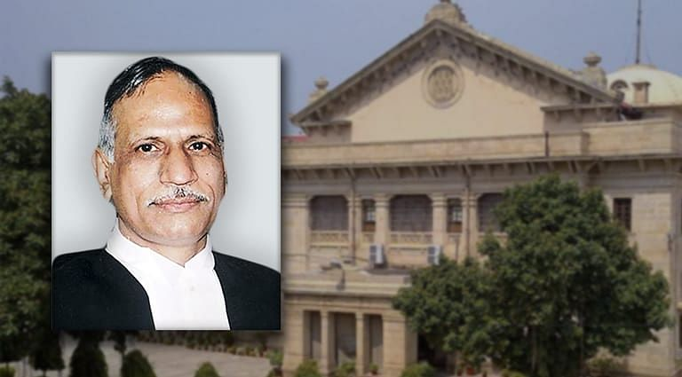 Justice Govind Mathur to take charge as Acting Chief Justice of Allahabad HC tomorrow [Read Notification]